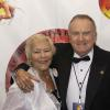 FBHOF Inductee Brain Garry and Boxing Achievement Award Phyllis Garry