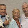 FBHOF Inductees Brain Garry & Dwaine Simpson with Boxing Achievement Award Phyllis Garry