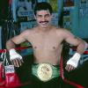 Fighter: Alexis Arguello:Born April 19, 1952 grew up in Managua, Nicaragua. He turned pro in 1968. During his long career, he fought fourteen world champions. In that career he won championships in Featherweight, SuperFeather & Light. His final ring record is 82–8, with 65 wins coming by knockout