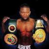 "EROMOSELE ALBERT: was born July 27, 1974 in Benin City, Nigeria. His final record stands at 24-6-1 with 12 KOs. Eromosele still lives in Miami and owns his own gym, Elite Fitness, where he continues to teach and inspire those interested in learning the ""Sweet Science."""